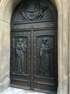 Door in Prague