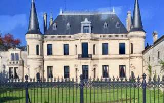 Chateau in Bordeaux Region France