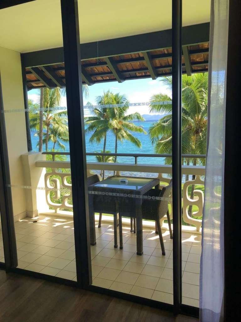 View of Balcony - Superior room Intercontinetal Tahiti